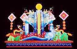 现代灯会设计:发展民政事业