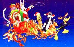 圣诞灯会设计:圣诞雪橇