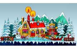 圣诞灯会设计:圣诞快乐