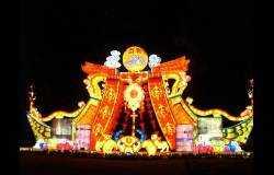 传统灯会精品:五彩桂林