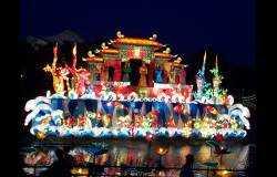 传统灯会精品:海龙王